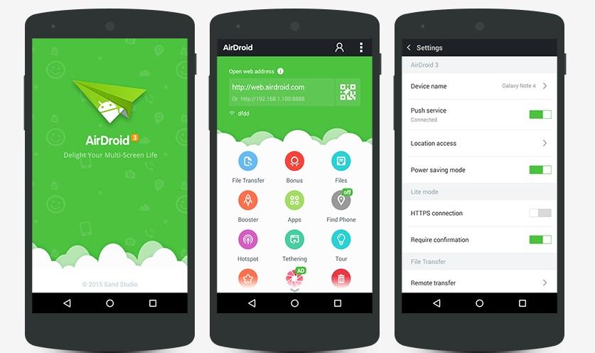 dateien von android auf pc übertragen-airdroid