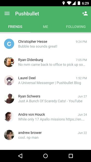 dateien von android auf pc übertragen-pushbullet