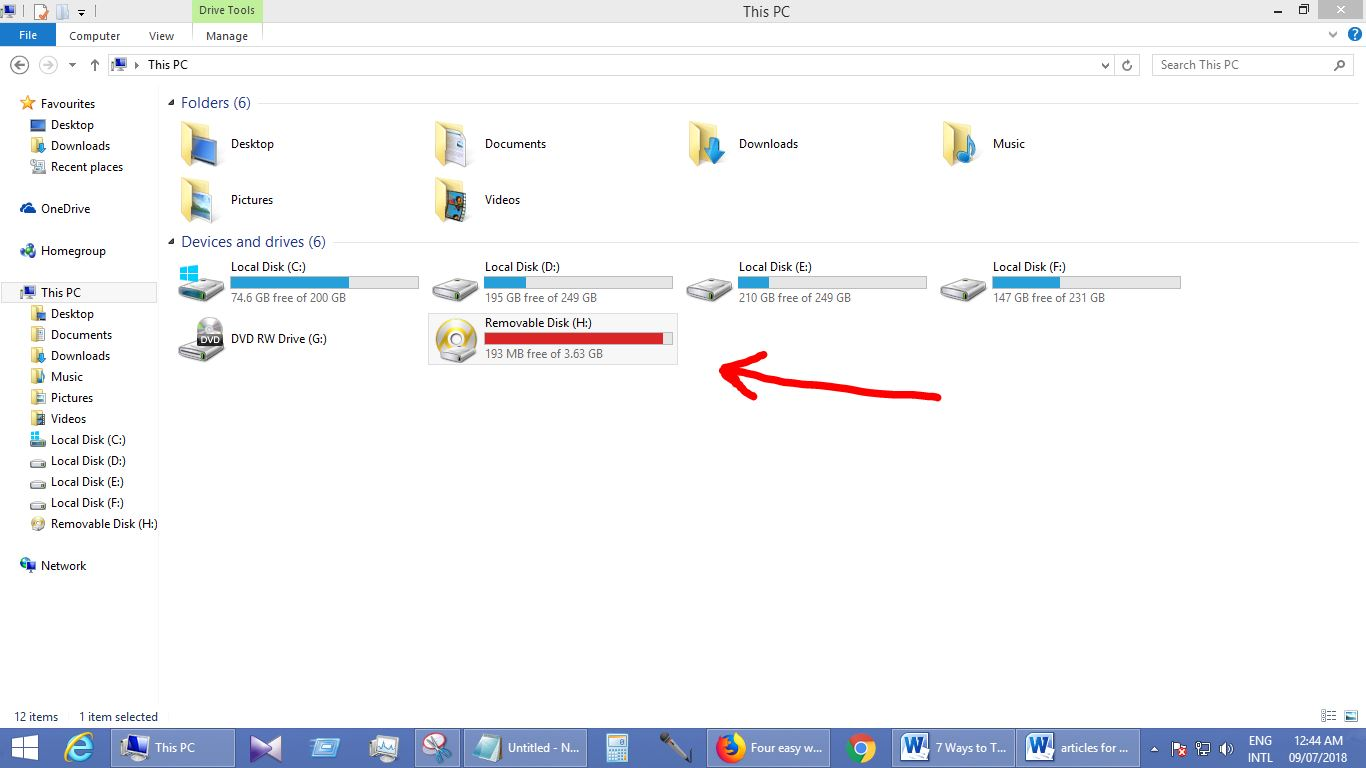 transfer files from android to pc-removable disk