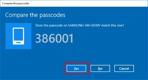 dateien von android auf pc übertragen - windows Bluetooth code