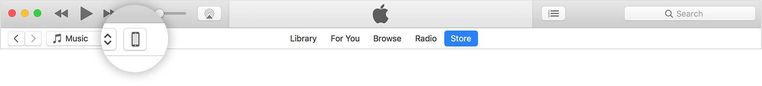 将音乐从mac传输到iPhone XS(Max) - 在iTunes中同步音乐