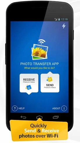 android to android data transfer app-Photo Transfer App for Android Devices