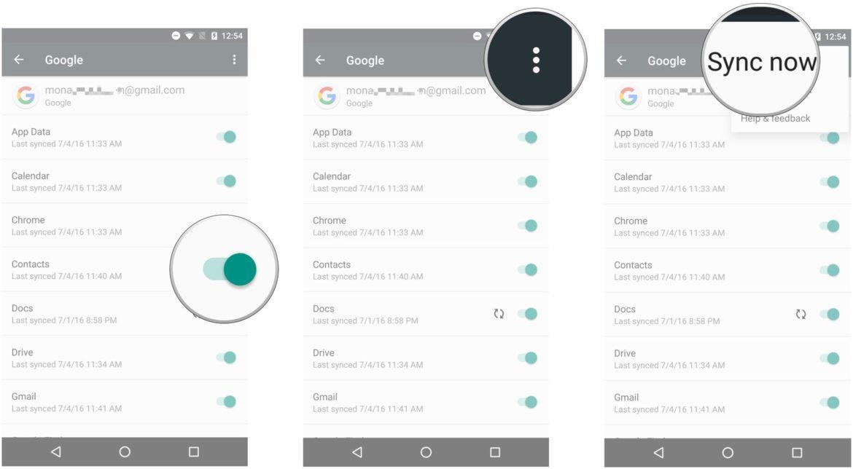 Übertragung von Samsung auf das iPhone - Jetzt synchronisieren