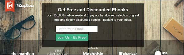 best torrent site for books - ManyBooks