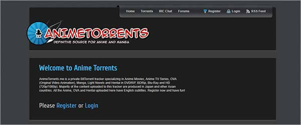 anime torrent sites- Anime Torrents