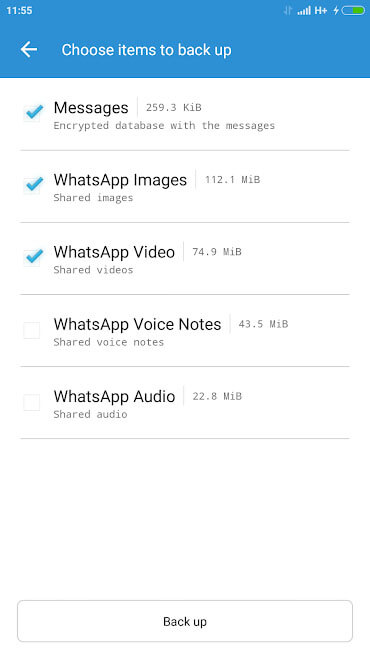 whatsapp chat recovery app - Backup for Whats