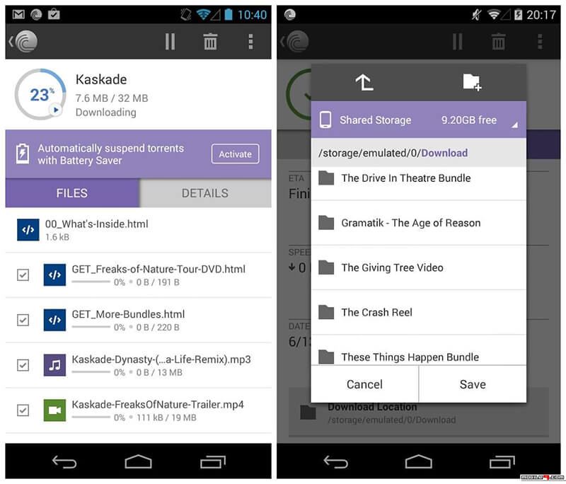 bittorrent for android - bittorrent