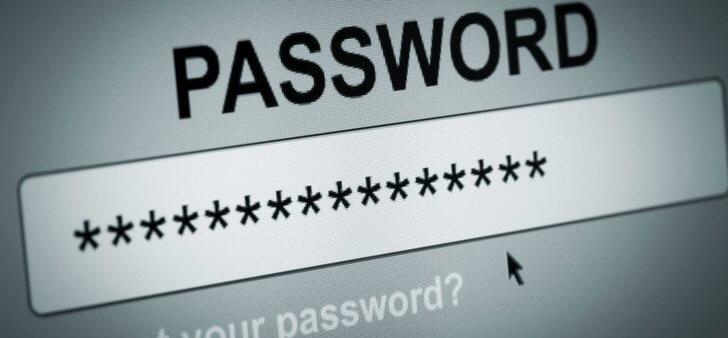 black internet - complex password