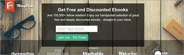 top free ebook torrents - ManyBooks