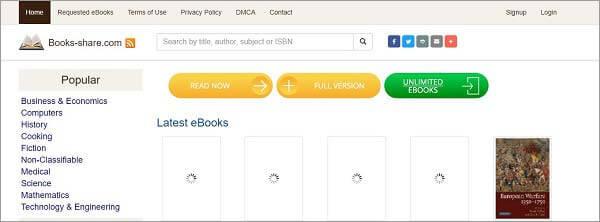 top free ebook torrents- EBookShare