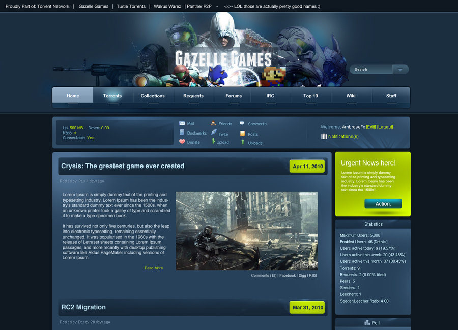 torrentz torrent alternative - gazellegames