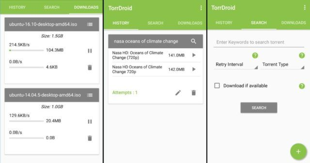 bittorrent for android - torrdroid