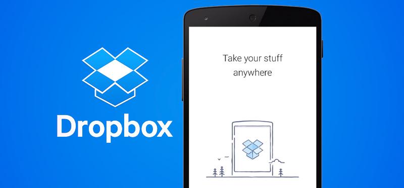 如何将文件从mac传输到android-DropBox