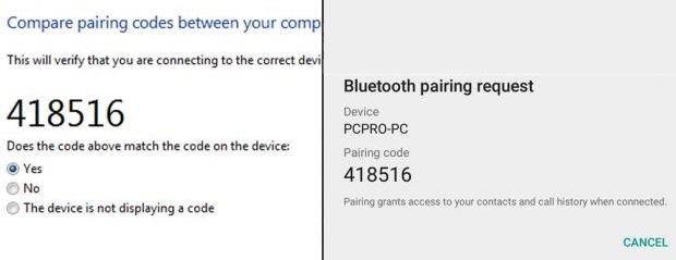 how to transfer files from pc to android-accept the connection request