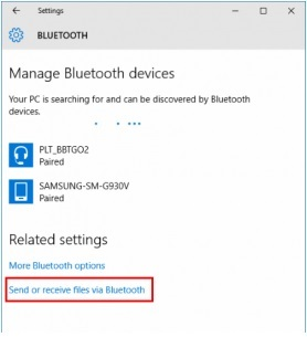 how to transfer files from pc to android-Send and receive files via Bluetooth