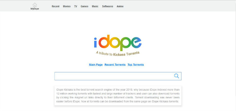 where to download torrents - iDope Torrents