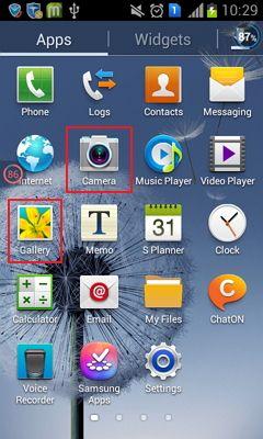 Galería de Android