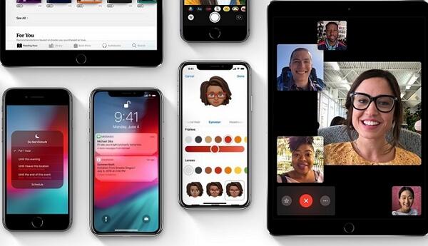 problèmes iOS 12