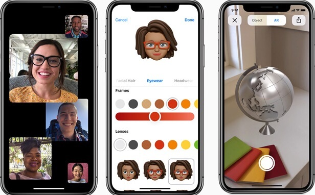 ios 12 beta camera effects in imessages