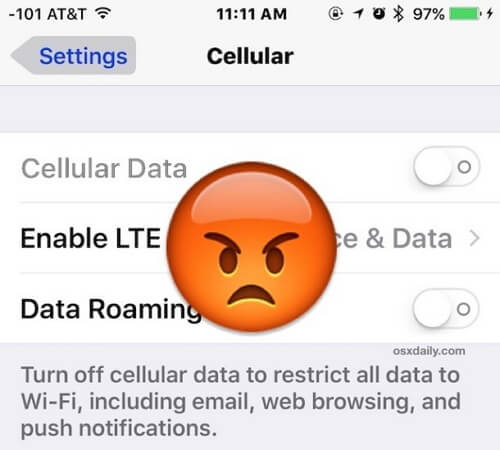 ios 12 cellular issues