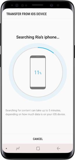 使用OTG从iphone转移到三星