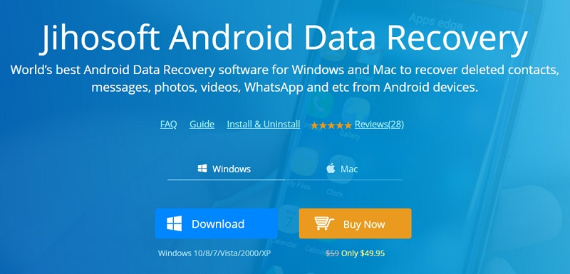 Jihosoft Android Phone Recovery Review How It Works And