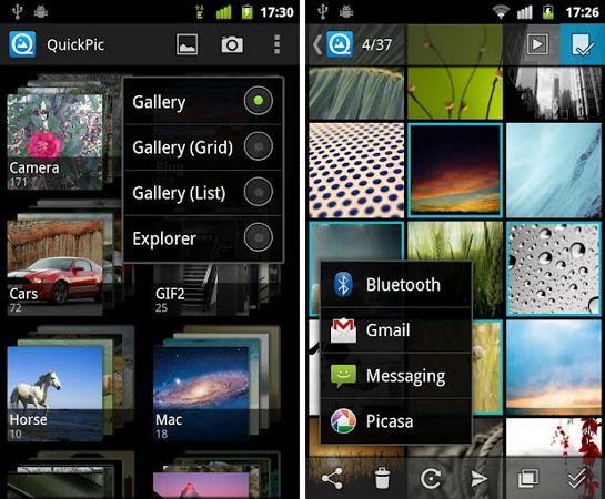 gestor de fotos de Android