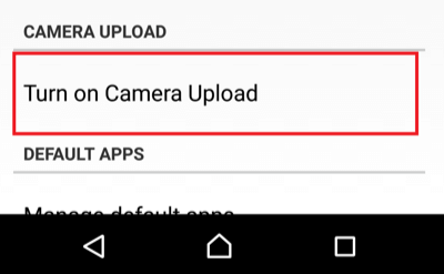 upload photos of s10 to dropbox