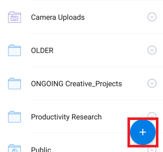 alternative way to upload photos