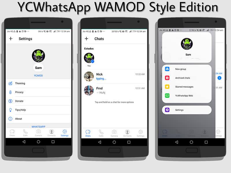 mod whatsapp - ycwhatsapp