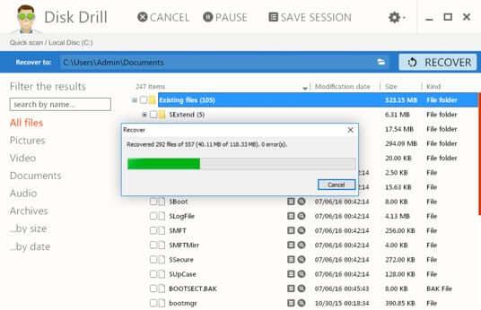 recuva alternative - Disk Drill