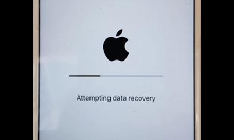 bloqué sur la tentative de récupération de données