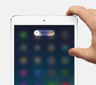 iPad neu starten