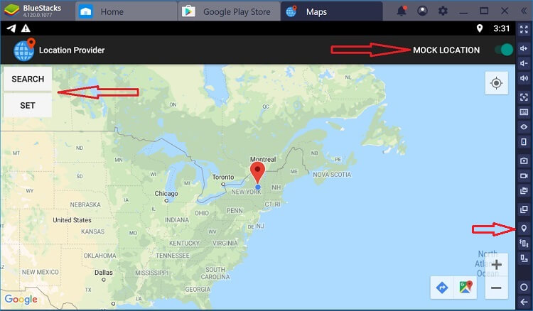 grindr mock location