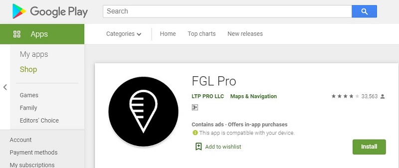 تطبيق FGL Pro