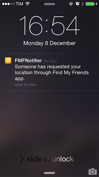 Notification avec FMFNotifier