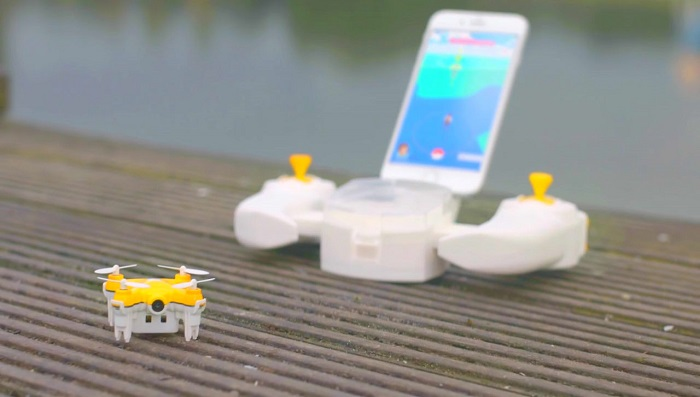 Play Pokemon Go with a drone