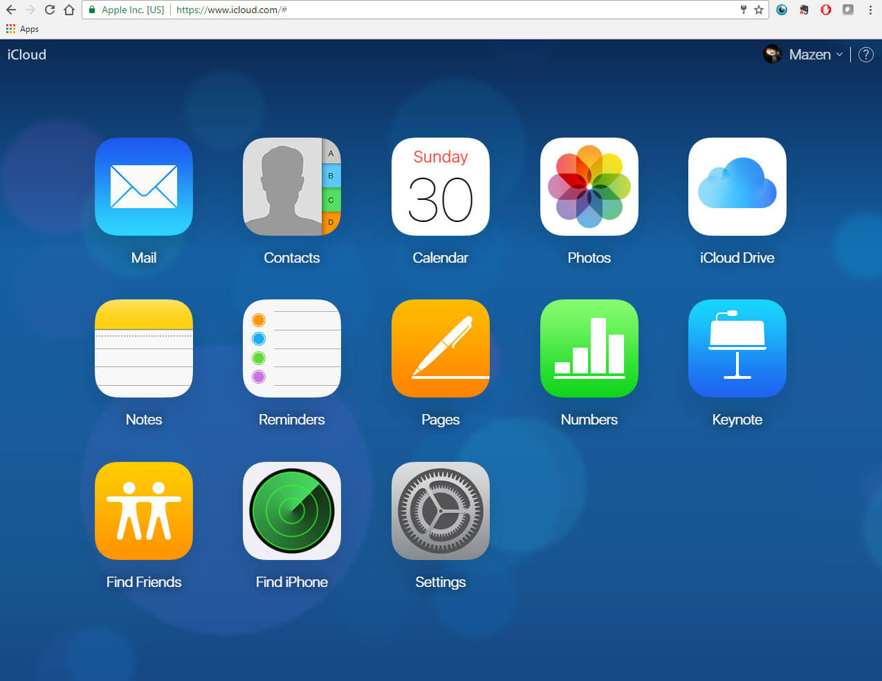 find iphone from icloud