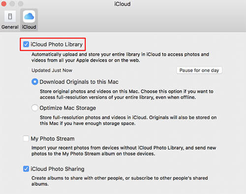 photos in iCloud Photo Library