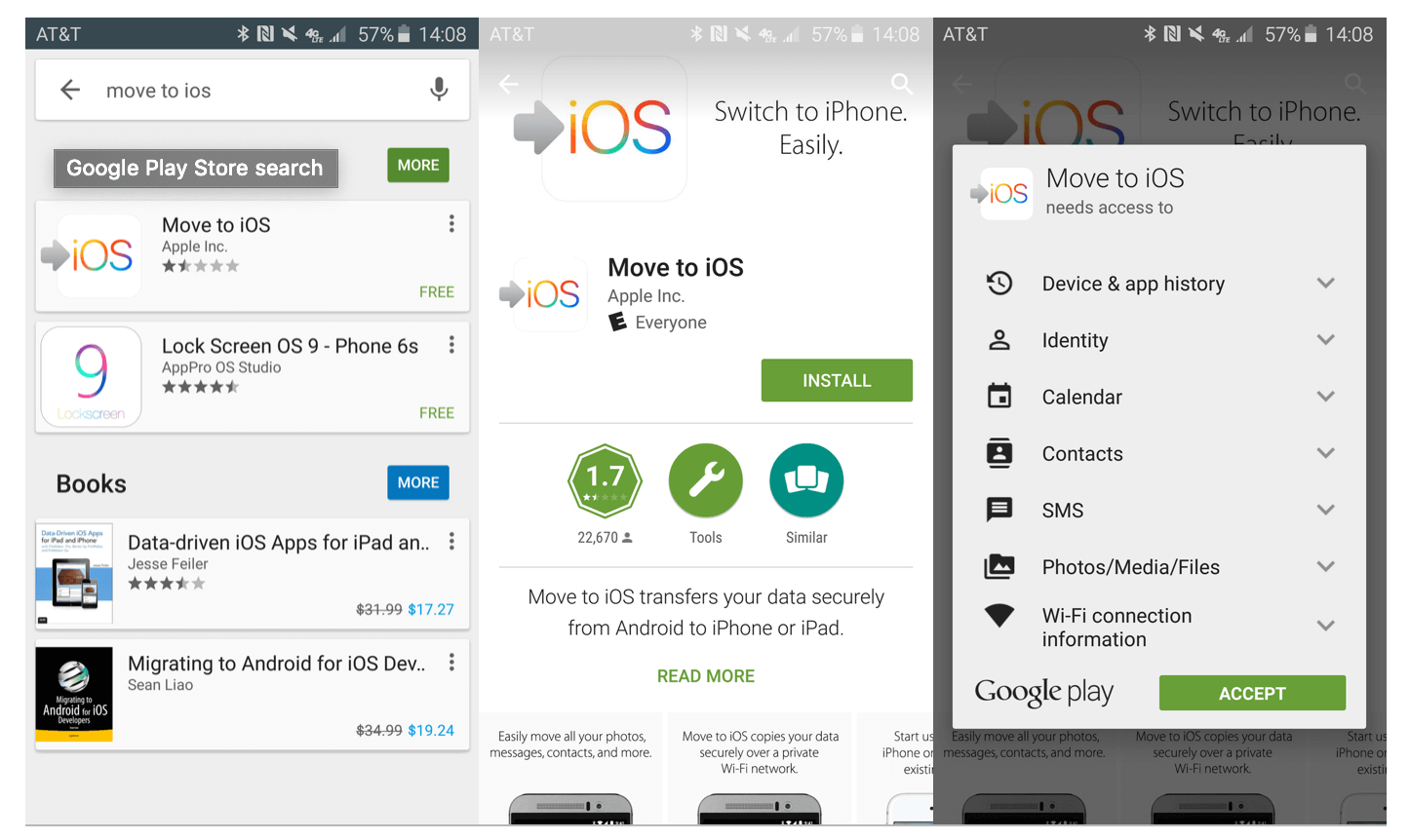download the Move to iOS