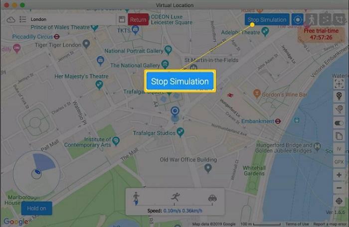 Simulation stoppen