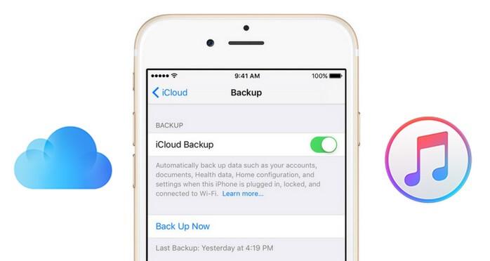 restore iCloud backup to iPhone