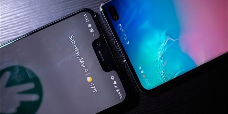 transfer data from pixel to samsung S20