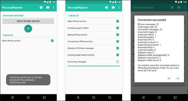 trasferire whatsapp da itunes ad android 3