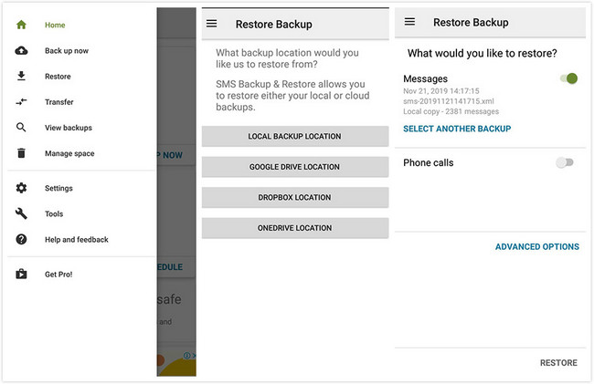 messages transfer by sms backup restore 4