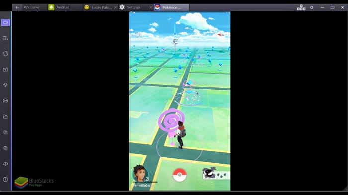 launch Pokemon Go once again
