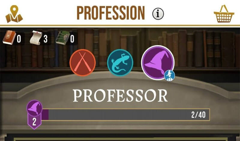 profession of harry potter game