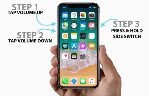 force restart iphone to fix ios downgrade stuck