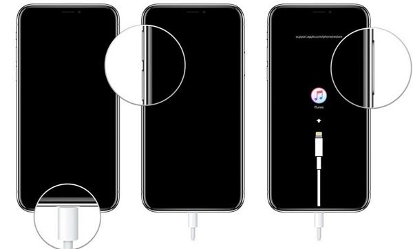 Booten Sie Ihr iphone 8 im Wiederherstellungsmodus