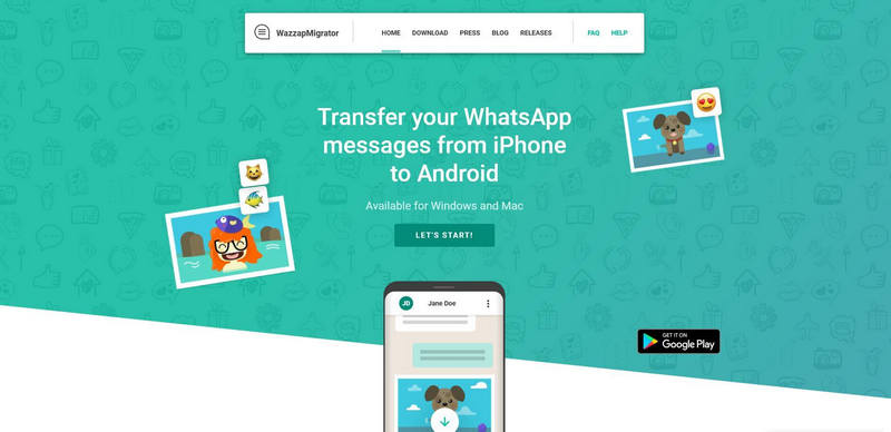 whatsapp migrator iphone to android